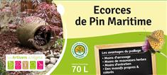 Ecorce de pin maritime